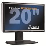 Iiyama ProLite B2008HDS 20 inch LCD Display 1000:1 250cd/m2 1600x900 2ms VGA/DVI-D (Black)